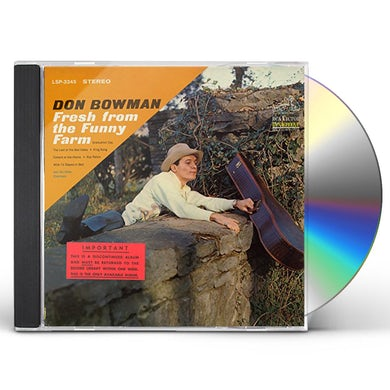 Don Bowman FRESH FROM THE FUNNY FARM CD