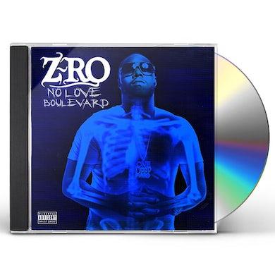 Z-Ro NO LOVE BOULEVARD CD