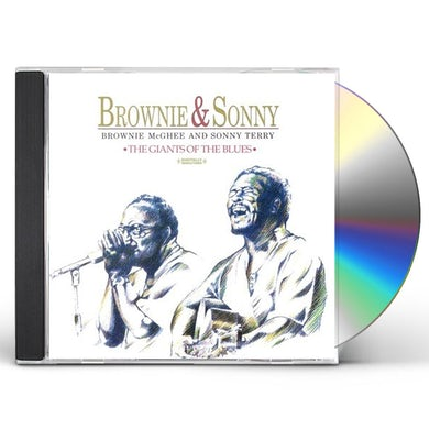 Brownie Mcghee BROWNIE & SONNY: GIANTS OF BLUES CD