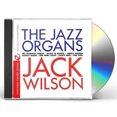 Jack Wilson JAZZ ORGANS CD