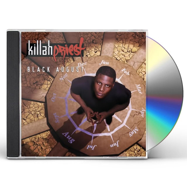 Killah Priest BLACK AUGUST CD