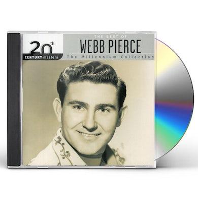 Webb Pierce 20TH CENTURY MASTERS: MILLENNIUM COLLECTION CD