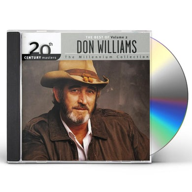 Don Williams 20TH CENTURY MASTERS: MILLENNIUM COLLECTION 2 CD