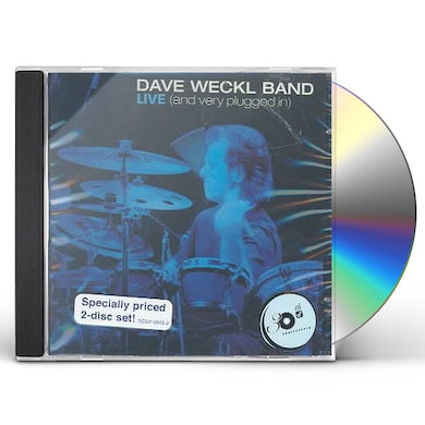 DAVE WECKL BAND LIVE: & VERY PLUGGED IN CD