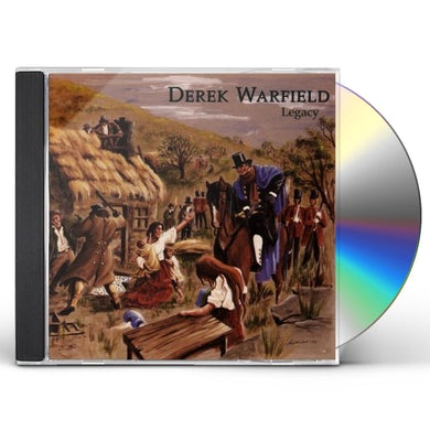 Derek Warfield LEGACY CD