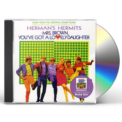 Herman'S Hermits MRS BROWN YOU'VE GOT LOVELY DAUGHTER / HOLD ON CD