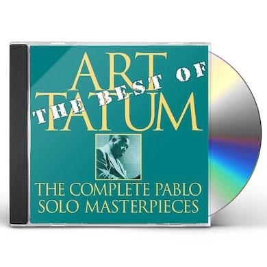Art Tatum BEST OF THE PABLO SOLO MASTERPIECES CD