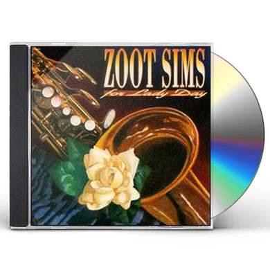 Zoot Sims FOR LADY DAY CD