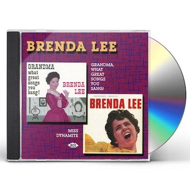 Brenda Lee GRANDMA WHAT GREAT SONGS YOU SANG / MISS DYNAMITE CD