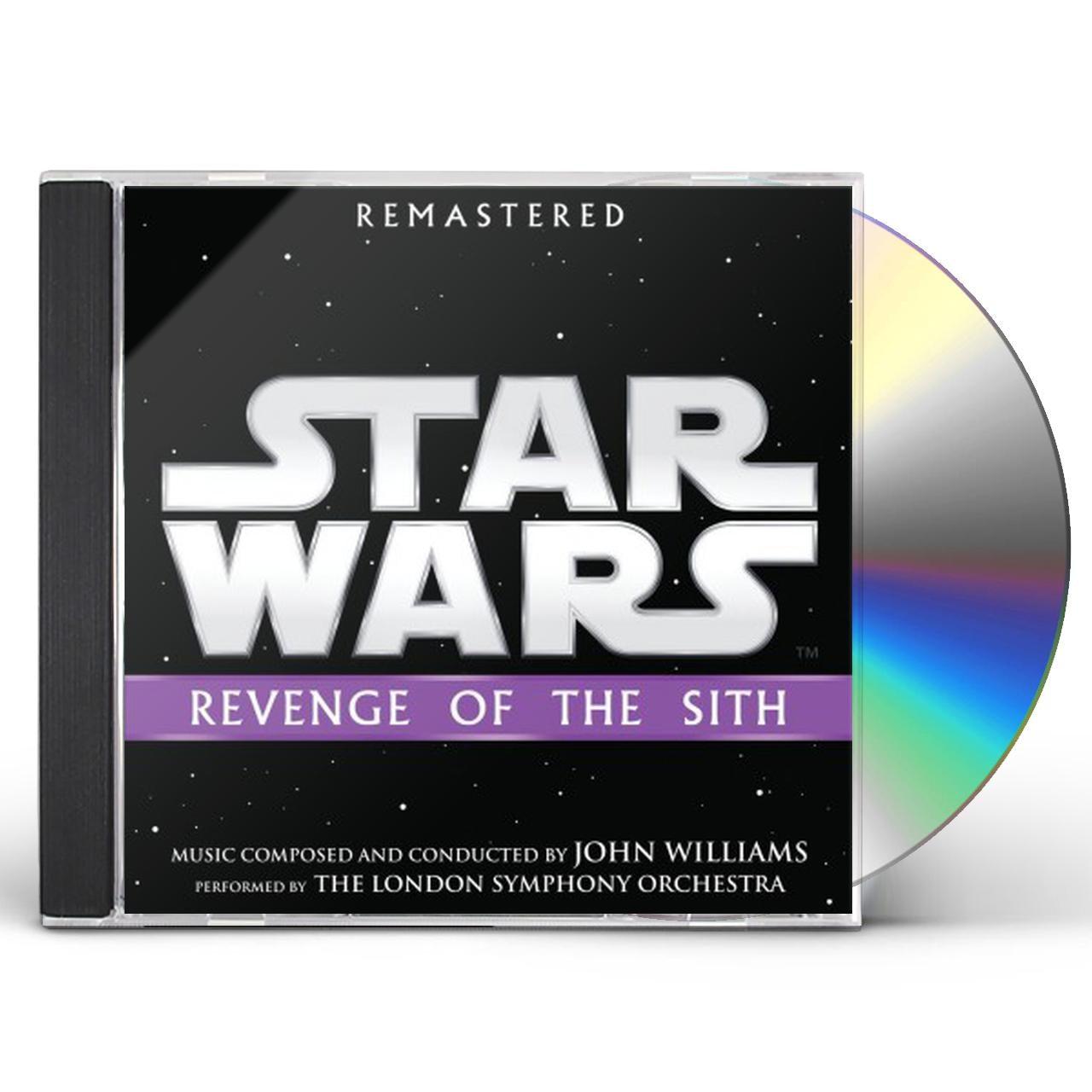 John Williams Star Wars Revenge Of The Sith Original Soundtrack Cd