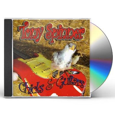 Tony Spinner CHICKS & GUITARS CD