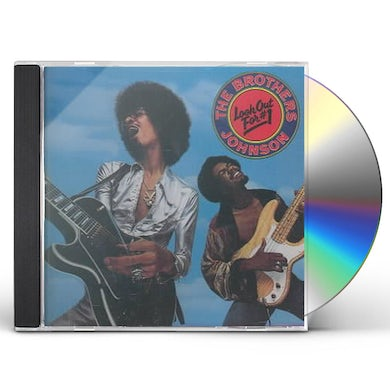 Brothers Johnson LOOK OUT FOR #1 CD