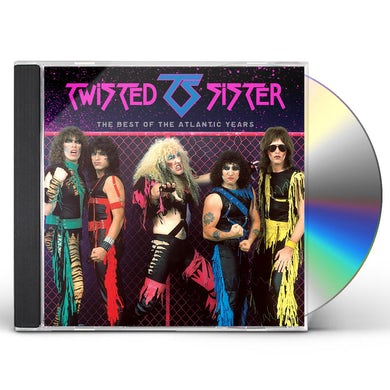 Twisted Sister BEST OF THE ATLANTIC YEARS CD