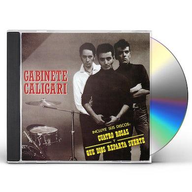 Gabinete Caligari CUATRO ROSAS Y QUE DIOS REPARTA SUERTE CD