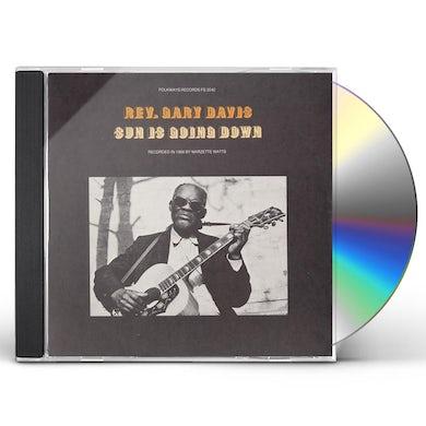 Gary Davis SUN IS GOING DOWN CD