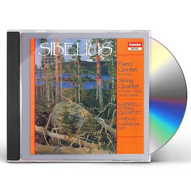 Sibelius PIANO QUINTET / STRING QUARTET CD