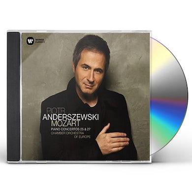 Piotr Anderszewski MOZART: PIANO CONCERTOS NOS. 25 & 27 CD