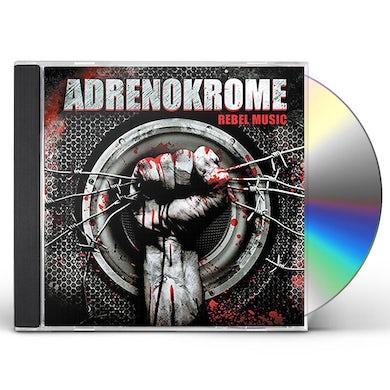 ADRENOKROME REBEL MUSIC CD