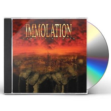 Immolation HARNESSING RUIN CD