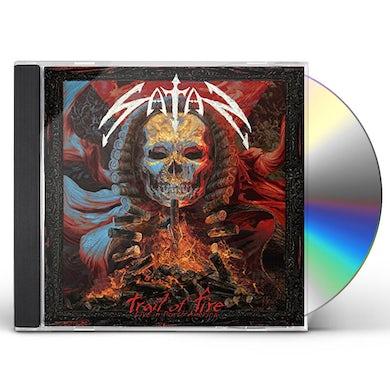 Satan TRAIL OF FIRE - LIVE IN NORTH AMERICA CD