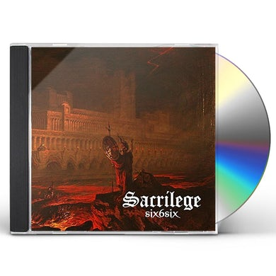 Sacrilege SIX6SIX CD