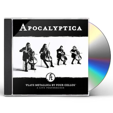 Apocalyptica PLAYS METALLICA BY FOUR CELLOS - LIVE PERFORMANCE CD