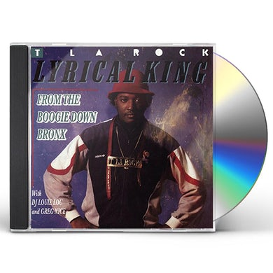T La Rock LYRICAL KING (FROM THE BOOGIE DOWN BRONX) CD