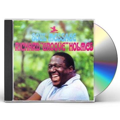 Richard Groove Holmes SOUL MESSAGE CD