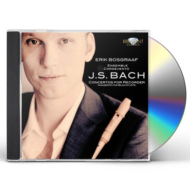 BACH: CONCERTOS FOR RECORDER CD