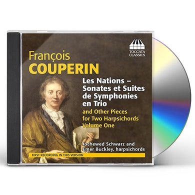 Couperin MUSIC FOR TWO HARPSICHORDS 1 CD