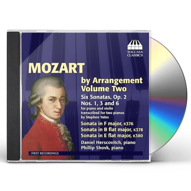 Mozart BY ARRANGEMENT VOL 2 CD