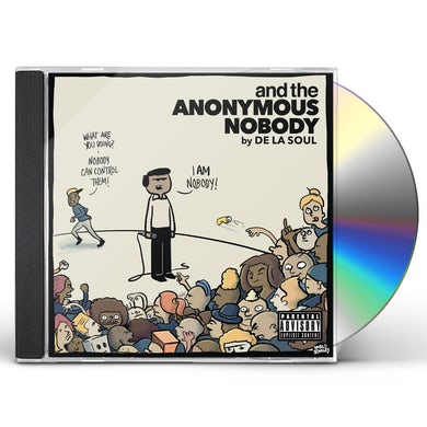 AND THE ANONYMOUS NOBODY CD