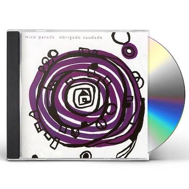 Mice Parade OBRIGADO SAUDADE CD