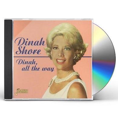 Dinah Shore DINAH ALL THE WAY CD
