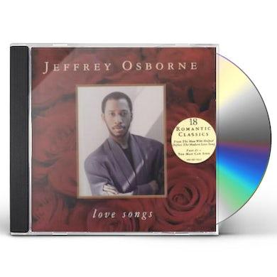 Jeffrey Osborne LOVE SONGS CD