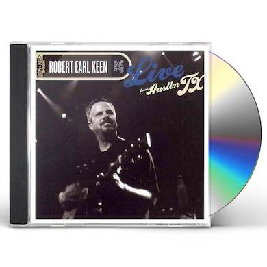 Robert Earl Keen LIVE FROM AUSTIN TX CD