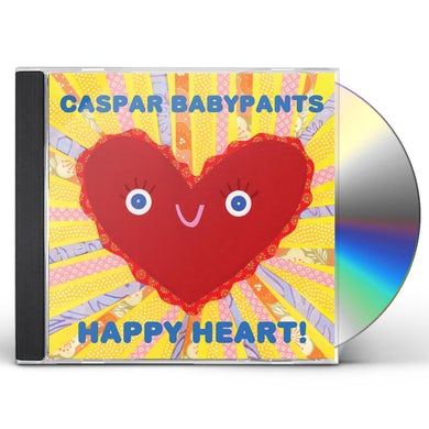 Caspar Babypants Happy Heart! CD