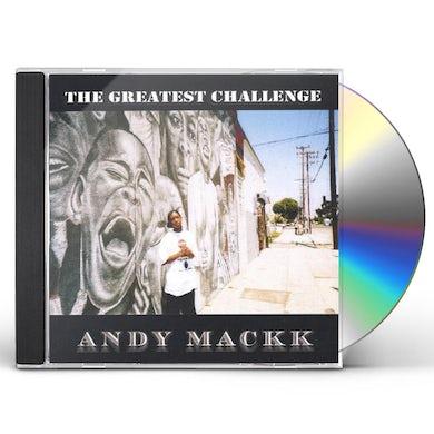 Andy Mackk GREATEST CHALLEGE CD
