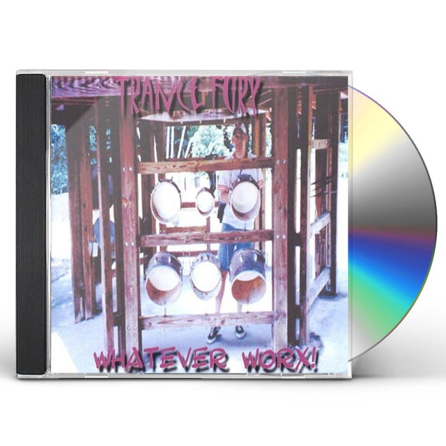 Trance Fury WHATEVER WORX! CD