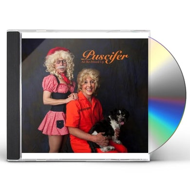 Puscifer ALL RE-MIXED UP CD