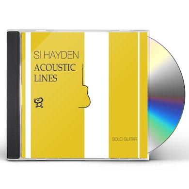 Si Hayden ACOUSTIC LINES (SOLO GUITAR) CD