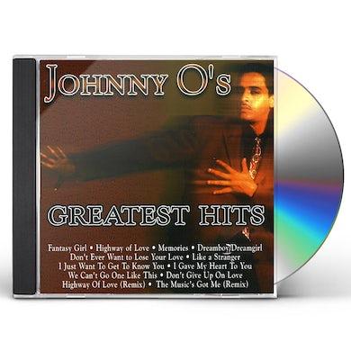 Johnny O GREATEST HITS CD