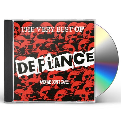 Defiance VERY BEST & WE DONT CARE CD