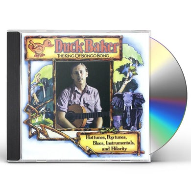 Duck Baker KING OF BONGO BONG CD