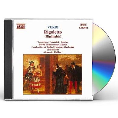 Verdi RIGOLETTO CD