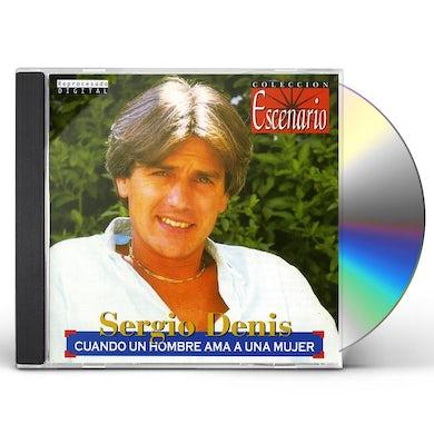 Sergio Denis CUANDO UN HOMBRE AMA CD