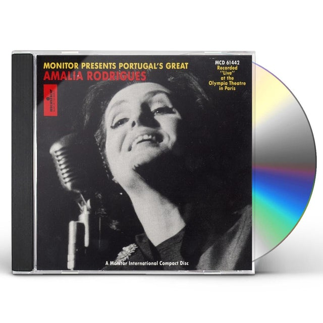 Amalia Rodrigues AT THE OLYMPIA THEATRE CD