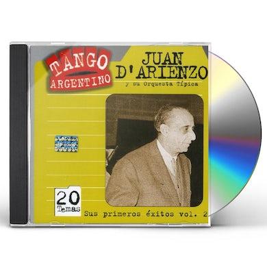 Juan d'Arienzo SUS PRIMEROS EXITOS 1935/40 2 CD