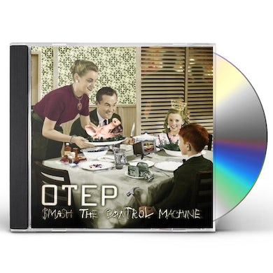 Otep SMASH THE CONTROL MACHINE CD