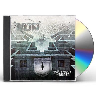 Shattered Sun EVOLUTION OF ANGER CD